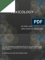 Clonidine Toxicity Case