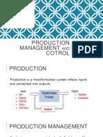 Production Management by Aman Singla