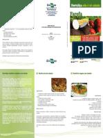 Folder Receitas Farofa