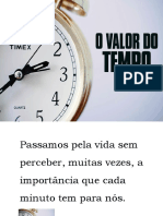 Palestra - O Valor Do Tempo