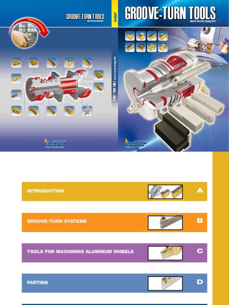 ISCAR TGMF 608 IC 20N Top Grip Carbide Inserts Grooving 10 Pcs Lathe Cut-Off New