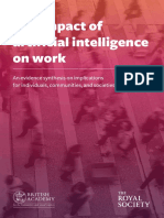 Evidence Synthesis the Impact of AI on Work