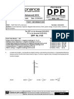 Physics DPP (5)