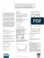 Bayesian Analysis of an Agricultural Field Trial
