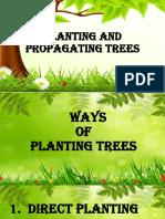 JASMINE JADE M. CLARIDADES= PLANTING AND PROPAGATING TREES