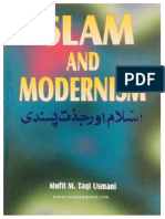 Islam and Modernism (Muft Taqi Usmani)