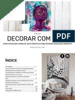 eBook Decorar Com Arte Como Escolher a Obra de Arte Perfeita Para Qualquer Ambiente Vfok