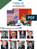 TEMA 10 - GUERRA FRÍA PDF