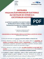 Material Instruire Presedinti Si Loctiitori BESV EURO REF 2019
