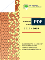Career in Packaging Calender for 2018 2019 17