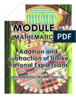 Passed 31-4 Abra Addition and Subtraction of Unlike Rational Expressions.pdf
