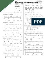 4. Ecuaciones en Geometría