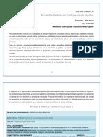 Analizando Las Metas Formativas y Contenidos Educativos