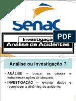 Análise e Investigação de Acidentes - Metodologias