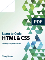 Learn to Code Html & Css, Shay Howe