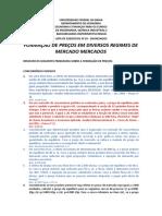 Lista Exerc Economia Financas