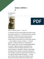 panteísmo estoico