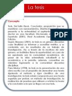 La tesis.ppsx