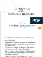 Building Design Presentation Flexural Members
