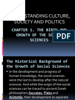 chapter1thebirthandgrowthofthesocialsciences-180206045721