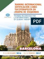 Training Internacional Barcelona 2016 2017