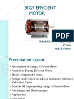 Piyali Pal Energy Efficient Motor