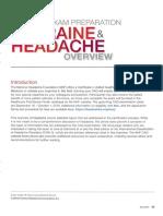 Migraine-Headache Overview 2019