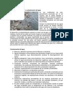 Contaminacion Del Agua Del Aire Del Sol