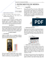 Informe 2 Instrumentos de Medida