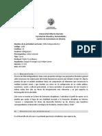 Calendario Chile II (2 2018)