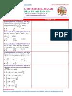 Soal SIMAK UI 2018 Matematika Dasar (www.catatanmatematika.com)