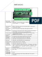 FX3u 56MR Manual