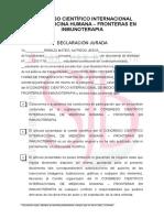 Declaracion Jurada III-congreso