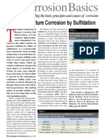 High Temperaturer Corrosion by Sulfidation