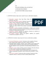 Clasificación de Las Cuentas Estado de Resultado y Situacion