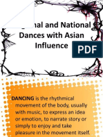 Kto12 Regional and National Dances With Asian Influence