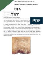 SEMINARIO TEOLÓGICO - HEBREO