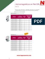 Catalogo ABB Termicos