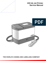 Willett 430 Ink Jet Printer Service Manual