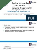 Diseño de mezcla, Método ACI.pdf