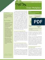 SHRM Green Workplace Survey Brief