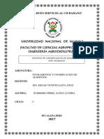 Informe de Ahumado de Boquichico