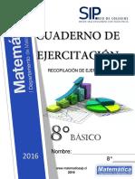 8°Cuaderno de Ejercitación SIMCE - 2016