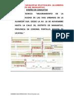 Canaletas Pluviales Alameda