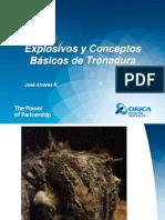 Explosivos y Conceptos Básicos de Tronadura
