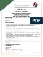 3ra Práctica - Aforo de Caudales - Aux Civ 230