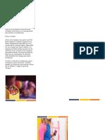 folleto educacion