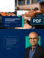 Customer Experience Orchestration Banking en US