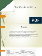 Adm. de Sueldos y Salarios.
