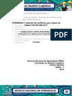 Evidencia 7 (Agenda de Trabajo)